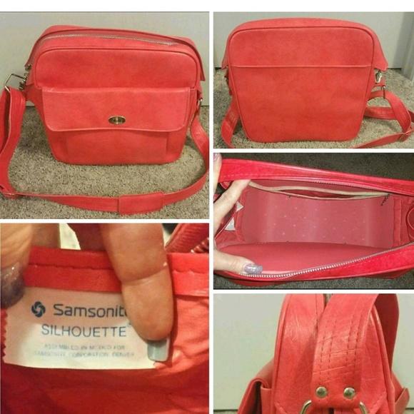 Samsonite Handbags - HELP RESCUE DOG/CANCER♡VTG Samsonite carryon